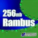 256MB ECC RAMBUS 40 N/S Samsung Original MR18R1628AFO-CM8