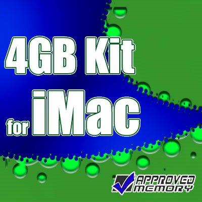 4GB RAM 2 X 2GB Memory Kit for APPLE IMAC Intel Core 2 Duo