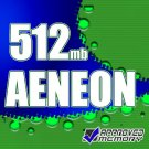 512MB RAM DDR2 240 PIN PC2-5300 667MHZ AENEON MEMORY