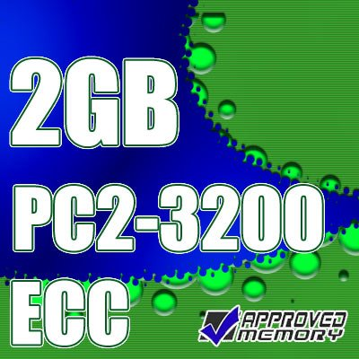 2GB RAM 240-pin PC2-3200 400MHz Registered ECC Memory for HP Compaq 9000 Server RP8440