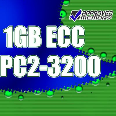 1GB RAM 240-pin PC2-3200 Registered ECC Memory for Hewlett Packard Workstation xw6200