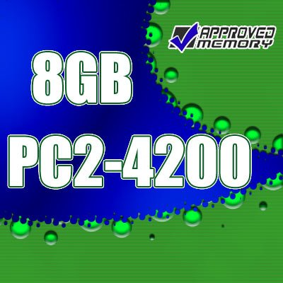 8GB (4x2GB) RAM PC2-4200 DDR2 533MHz Apple Power Mac G5 2GHz Dual Core (M9590LL/A) Memory Kit