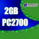 2GB (2x1GB) RAM PC2700 DDR 333MHz Apple PowerMac Power Mac G4 1.25GHz Memory Kit M9145LL/A