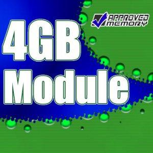 4GB RAM ECC FB DIMM 800MHz SINGLE Memory Module for Apple Mac Pro 3.2GHz Pro-8 Core Memory