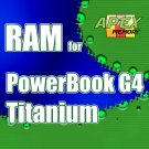 1GB 2X 512MB RAM Memory Kit PC133 144PIN SODIMM for Apple PowerBook G4 Titanium 1GHz M8859LL/A