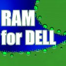 1GB RAM PC2100 266MHz Memory Module  for Dell Inspiron  500M