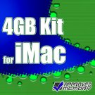"Samsung 4GB (2 x 2GB)  667MHz Memory Kit for Apple iMac Core 2 Duo 2.66GHz 20"" MB324LL/A"