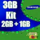 Samsung 3GB (2GB = 1GB )  667MHz Memory Kit for Apple iMac Intel