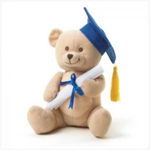 Graduation Plush Bear