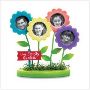 Family Garden Flowers Frames