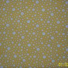 BTY RJR Everything But the Kitchen Sink Bubbles on Yellow 1930s Repro Quilt Fabric By the Yard
