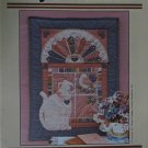 Kitty's Window Vintage Wall Hanging Pattern by Creative Needlearts Country Charm Series