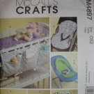McCall Crafts Baby Accessories Nursery Pattern M4897