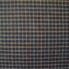 Green & Brown Plaid Double Sided Cotton Homespun Flannel Fabric Fat Quarter FQ