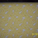 Sunbonnet Sue Overall Bill Gardening Toss on Yellow RJR Fabric Fat Quarter FQ