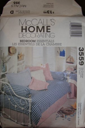McCall Home Decorating Bedroom Essentials Pattern 3559