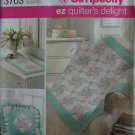 EZ Quilter's Delight Quilt Table Runner Pillow Sewing Pattern by Darlene Zimmerman for Simplicity