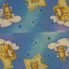 Nighttime Nursery Rhymes Crib Bumper or Border Fabric