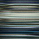 F8 Green Blue Brown Black White Stripe Fleur-C3792 Fabric Fat Eighth F8th