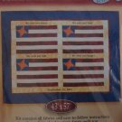 American Spirit Commemorative Edition 43 x 57 Wall Hanging Quilt Kit Remembering 9 11 OPENED