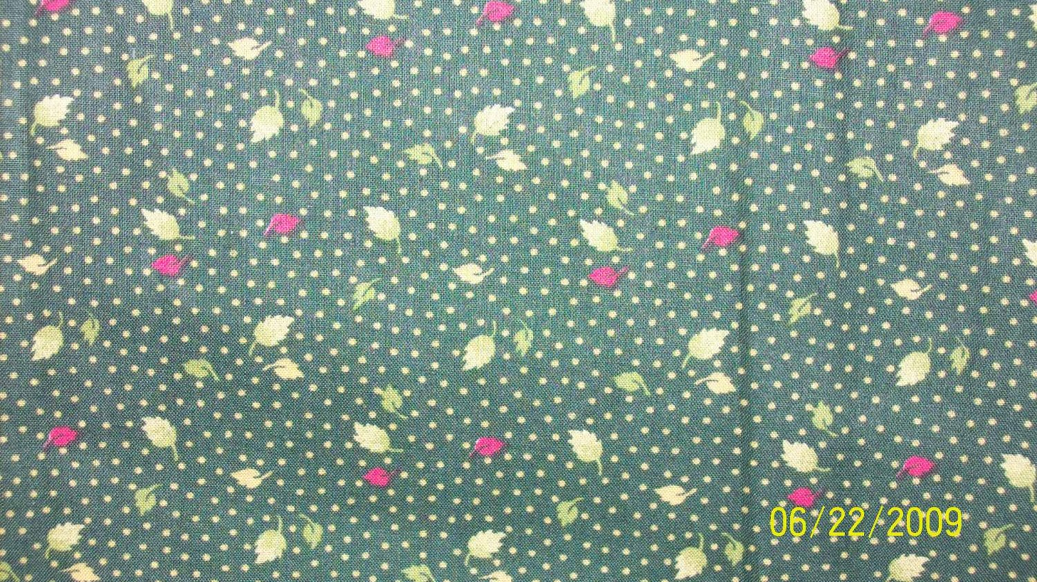 Yard chanteclaire classic blooms leaves on green repro