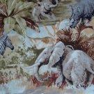 FQ Timeless Treasures Wild Jungle Safari Animals Cotton Quilt Fabric Fat Quarter