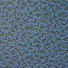 FQ Garden Delights Purple Flowers on Light Blue Fabric Fat Quarter by AE Nathan