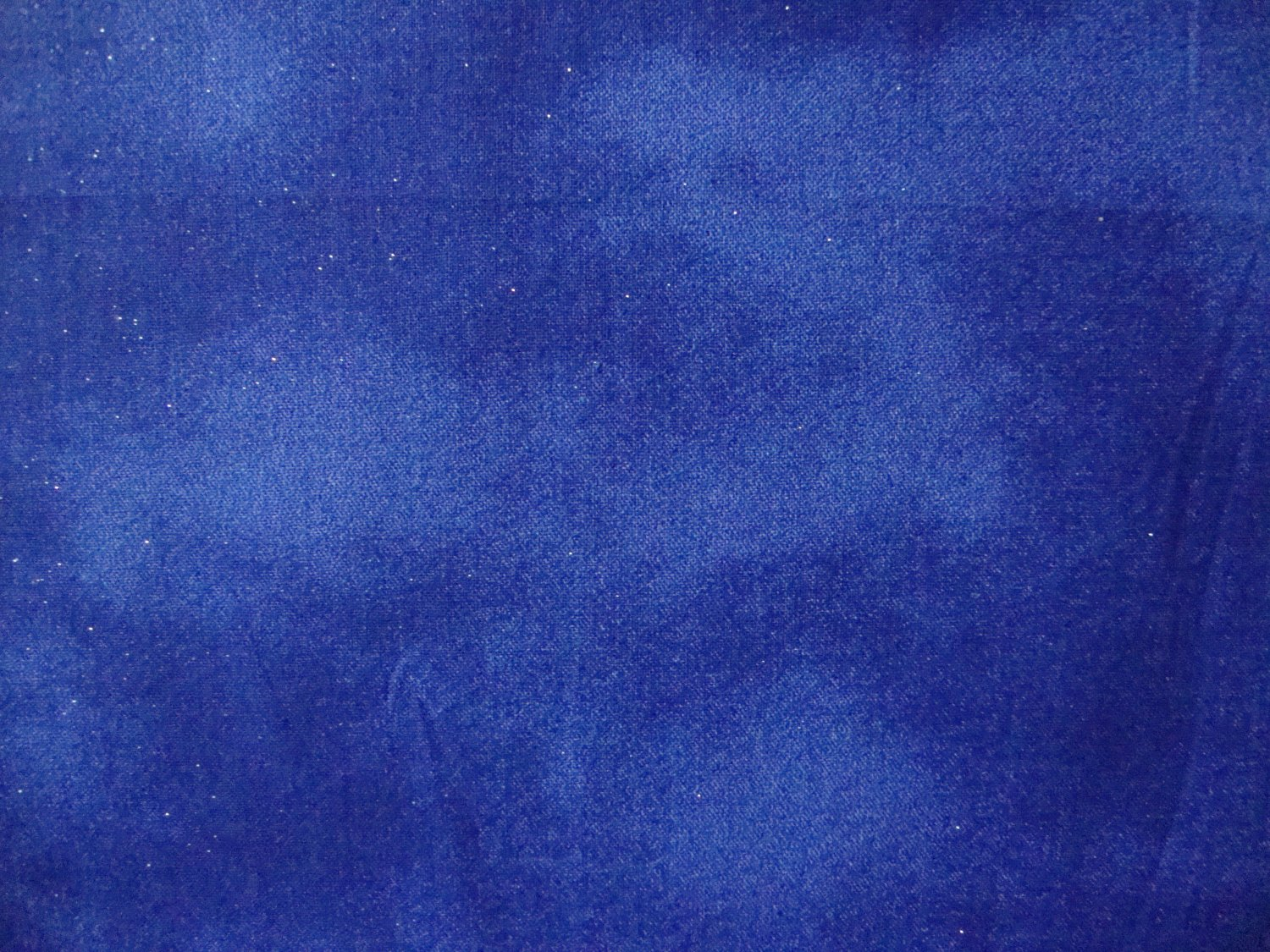 8 mottled medium blue night sky with glitter sparkle for Night sky fabric uk