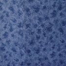 "8 3/4"" Speckled Mottled Slate Blue Cotton Fabric Bolt End"