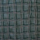 FQ Green & Gold Basketweave Plaid Gingham Cotton Benartex Fabric Fat Quarter