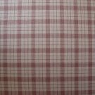 FQ Brown and Tan Plaid Cotton Fabric Fat Quarter