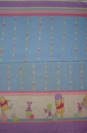 Bolt End Disney Winnie the Pooh Pooh's Friend Piglet Border Fabric 3/8+ Yard