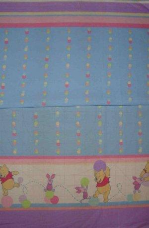Bolt End Disney Winnie the Pooh Pooh's Friend Piglet Border Fabric 1 3/8+ Yard
