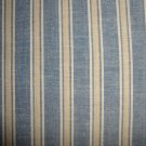 FQ Thimbleberries Daisy Days Blue & Tan Stripes RJR Lynette Jensen Fabric Fat Quarter