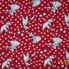 BTY Sunbonnet Sue Gardening on Red RJR Fabric 30s Repro Everything But the Kitchen Sink By the Yard