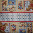 Americana Teddy Bear Bumper Border Fabric BTY By the Yard