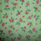 BTY Beary Berry Patch Berries Tossed on Green Cotton SSI Fabric By the Yard