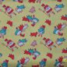 Granny's Nursery Rhymes Mary Lamb Bo Peep Sheep on Yellow Repro Kids Fabric 1+ Yard