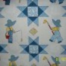 RJR Everything But the Kitchen Sink Overall Bill Quilt Top 2/3 Yard Panel 30s Repro Fabric
