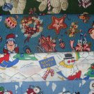 Kids Theme Christmas Design Strips / Scrap Bag Cotton 1/2 pound Holiday Fabric Lot