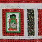Peter Pan Fall Fun Halloween Trick or Treat Bag Cotton Fabric Panel