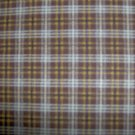 Peter Pan Brown & Tan Plaid Cotton Quilting Fabric Per Yard BTY