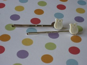 Owl Hairpins
