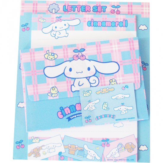 Cinnamoroll Letter Set #1 - with Cherries Sanrio Kawaii