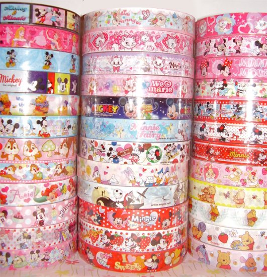 Wholesale Deco Tape (DISNEY ONLY!) - 37 Medium Sized Rolls