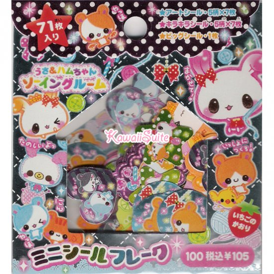 CRUX Knitting Friends Sticker Sack - Stickers Sacks Kawaii