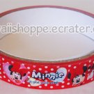 Disney Minnie Mouse *So Glad You're Mine* Valentine Hearts Deco Tape