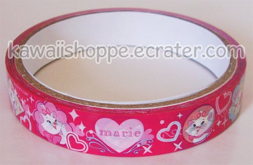 Disney Marie Cat Deco Tape - The Aristocats