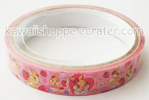 Disney Miss Bunny & Strawberries Deco Tape