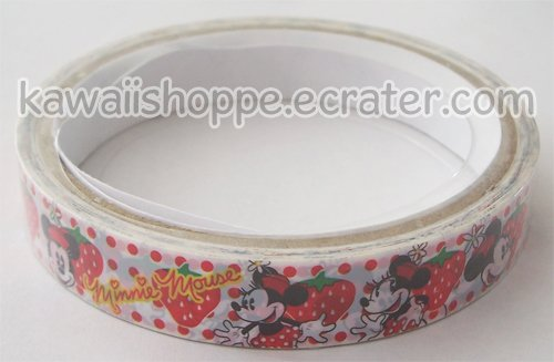 Disney Minnie Mouse Deco Tape #1 Strawberries